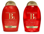 OGX Vitamin B5 Plus Moisture Shampoo and Vitamin B5 Conditioner 380ml [ Bundle of 2 Items]