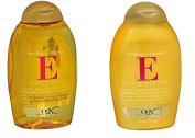 OGX Healing Plus Vitamin E Shampoo and Vitamin E Conditioner [Bundle of 2 Items]