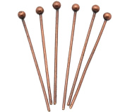 Generic Red Copper Colour Ball Head Pins Pack of 1000pcs