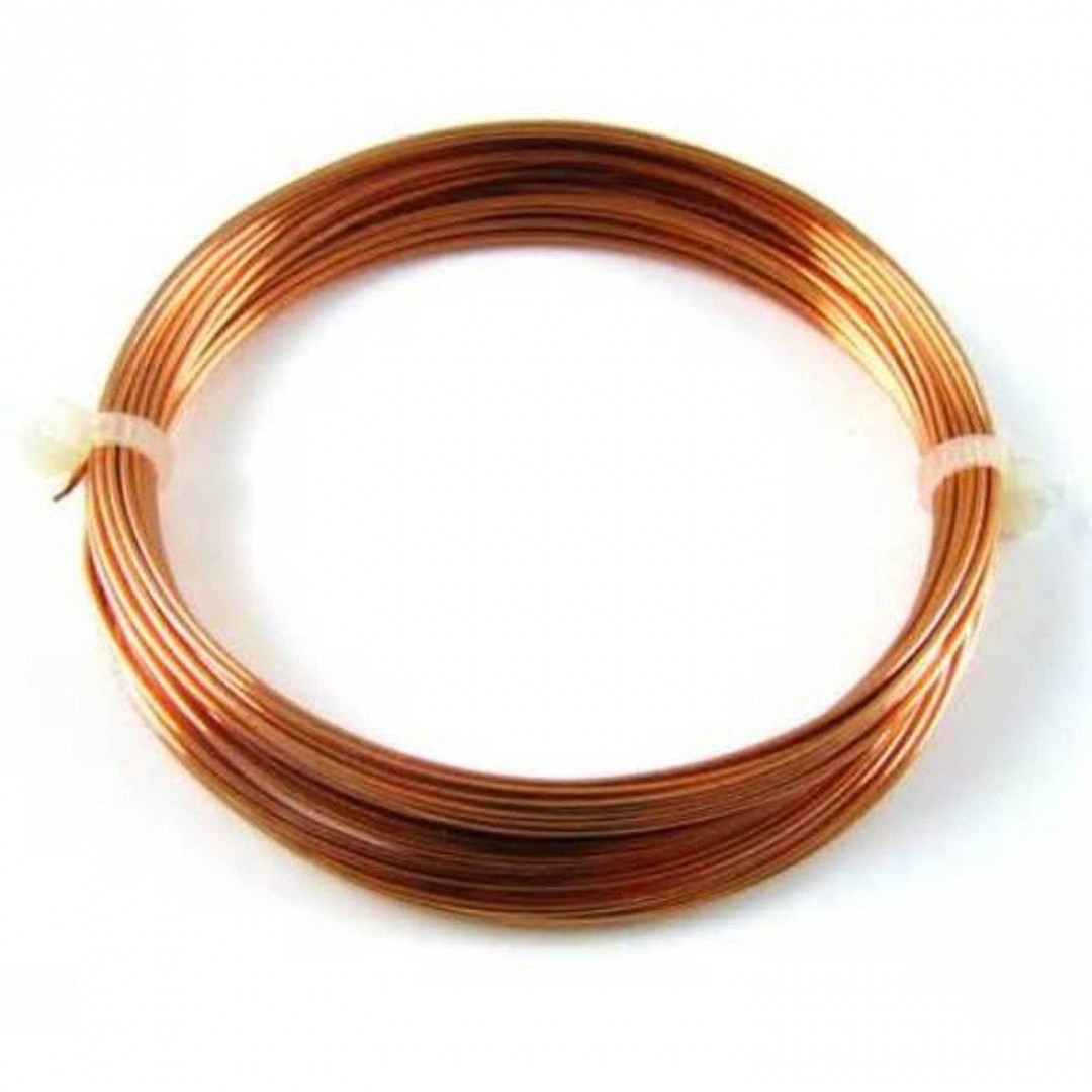 20 Ga 7.6m Dead Soft Copper Wire - Craft - Hobby - Jewellery Making ...