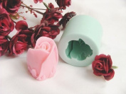 World Of Moulds Deep Rose Bud Silicone Mould