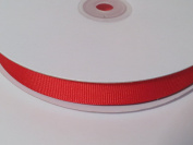 1.6cm Polyester Grosgrain Ribbon - Red - 50 Yards