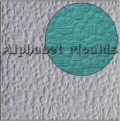Alphabet moulds - Embossing Mat For Cake Decorating - Butterfly