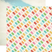 Carta Bella Soak Up The Sun Swimsuits Summer Scrapbook Paper