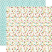 Carta Bella Soak Up The Sun Sprinkles Summer Scrapbook Paper