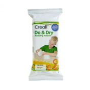American Educational Products A-26015 Creall Do and Dry Modelling Material, Regular, 500 g, Terracotta