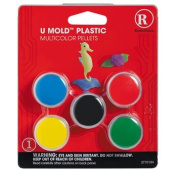 Muticolor Pellets for U Mould Plastic for Repairs, Crafts and Prototyping