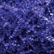 Royal Blue Crinkle Cut Paper - 0.2kg Royal Blue Gift Basket Filling Shredded Paper
