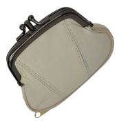 Marshal Wallet Coin Purse Double Frame With Zipper Pocket