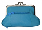 Marshal Coin Purse Double Frame With Zipper Pocket