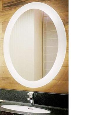 "Bathroom Mirror New Zealand led round lighted bathroom mirror with defogger fog free ""sol"