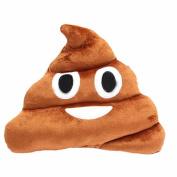 CITY Emoji Smiley Emoticon Round Cushion Pillow Stuffed Plush Soft Toy Poop Shaped