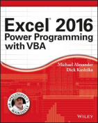 Excel 2016 Power Programming with VBA