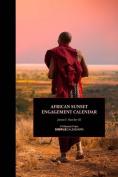 African Sunset Engagement Calendar