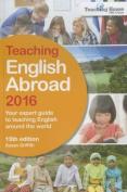 Teaching English Abroad: 2016