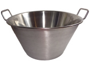 Cazo Stainless Steel Large 41cm Heavy Duty Caso Para Carnitas Acero Inoxidable