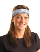 2PCK-Miracool Headband - Cooling Lasts for Hours - Re-Usable - DENIM