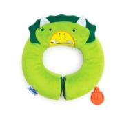Trunki Yondi Travel Pillow, Green Dino, Small