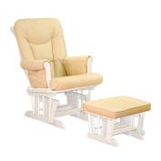Athena AFG Sleigh Glider Chair, White