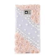 S6 Edge Case,Galaxy S6 Edge Case,EVTECH® 3D Handmade Fashion Crystal Rhinestone Bling Case Cover Hard Case Clear