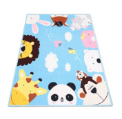 Soft Cute Animal Baby Play Mat 130cm By 100cm