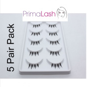 PrimaLash 5 Pairs False Eyelashes 311 Pixies Half/corner petite lashes Value Pack