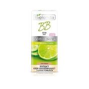 Bielenda CUCUMBER & LIME Make-Up Mattifyng BB Cream 5in1 With Light Foundation MEDIUM OIL-FREE