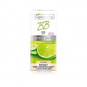 Bielenda CUCUMBER & LIME Make-Up Mattifyng BB Cream 5in1 With Light Foundation LIGHT OIL-FREE