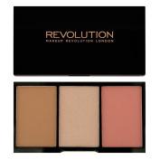 Makeup Revolution - Iconic Pro Blush, Bronze and Brighten - Flush