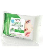 Delicate cleansing wipes for face pack Aloe 25 Pieces