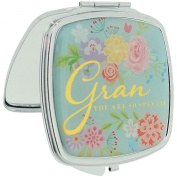 "Juliana Blooming Lovely Compact Mirror For ""GRAN"" In Presentation Box SC950."