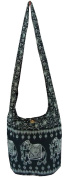 Hippy Bag Purse Ladies Elephant Medium Boho Hobo Festival Bag Cotton