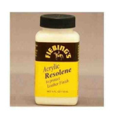 Fiebing's Acrylic Resolene Dye 4oz Finish Sealer 118ml for Smooth Leather All Coour