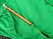 solid brass/wood long handled shoe horn duck head design