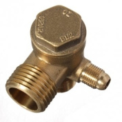 Brass Male Threaded Cheque Valve Tool for Air Compressor
