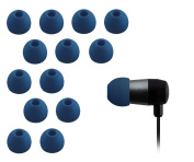Xcessor Replacement Silicone Earbuds. Compatible With Most in Ear Headphone Brands. 7 Pairs (Set of 14 Pieces). Size
