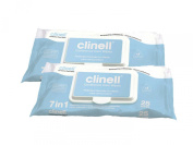 Clinell Continence Wipes 25pcs - Pack of 2