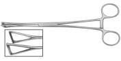 """Surgical Instrument Specialists Duval Tissue Forceps 20cm 8"""" Duval Stomach Lung Forceps"""
