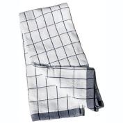 e-cloth Classic Cheque Kitchen Towel, Black
