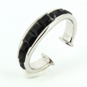 Luxury Tie ring, MonArt Italy. - Black - Mon-Art