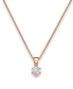 Viventy Women's Pendant Silver Gold-Plated Rhodium-Plated White Zirconia - 772122