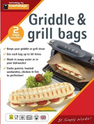 Toastabags Panini Grill Bags 2 Bags Per Pack