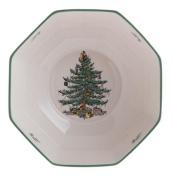 Spode Christmas Tree Octagonal Bowl, Medium