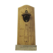 Wall Mounted Bottle Opener Bar Top Catcher French Vintage Style Kitchen Bar