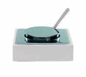 Mepra Stainless Steel Parmesan Cheese Basin, White