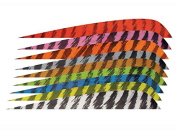 New Gateway Archery 10cm Parabolic Right Wing Barred Feathers Pack of 12