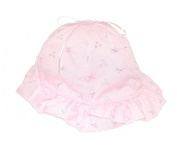 Intricate Broderie Anglais Baby Sun Hat