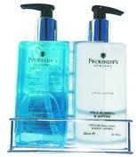 Pecksniff's England Wild Bluebell & Jasmine Handwash & Hand and Body Lotion