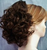 DAWN Clip On Hairpiece by Mona Lisa 8 Chestnut Brown