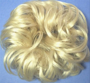 LACEY 7.6cm Pony Fastener Hair Scrunchie 613 Bleach Blonde